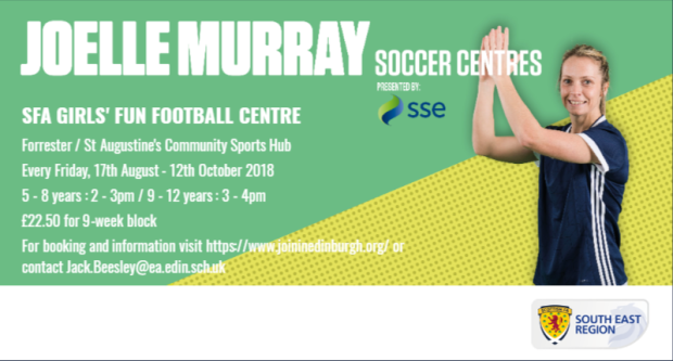Joelle Murray Girls Centre Aug-Oct