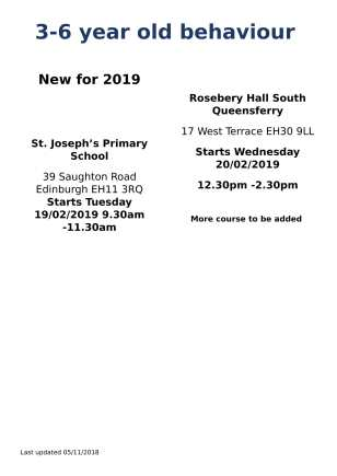 All Groups Flyer Jan Feb 2019-2