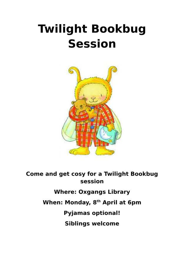 Twilight Bookbug Session-1