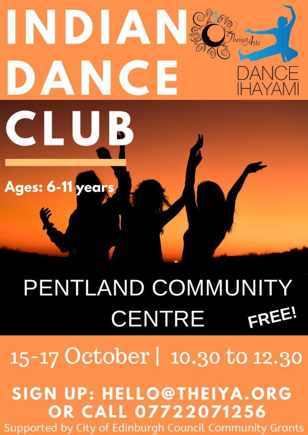 Oct Pentland Indian dance club