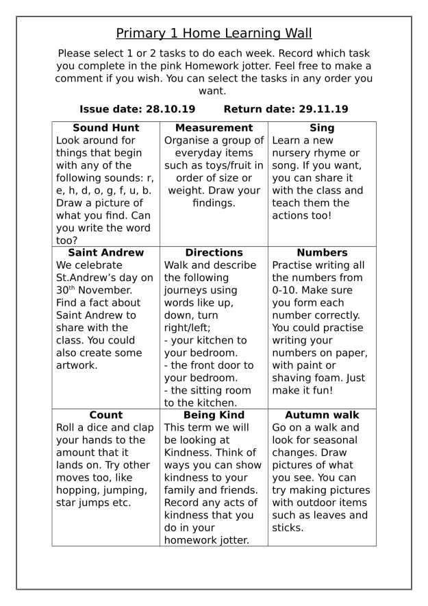 P1 Homework 1 October - December-1