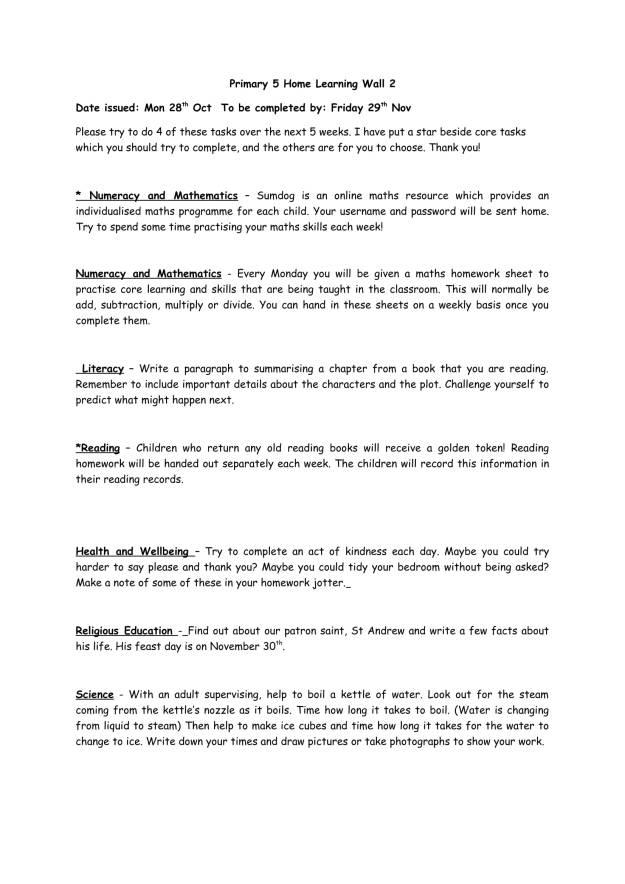 P5 Homework Wall 2-1