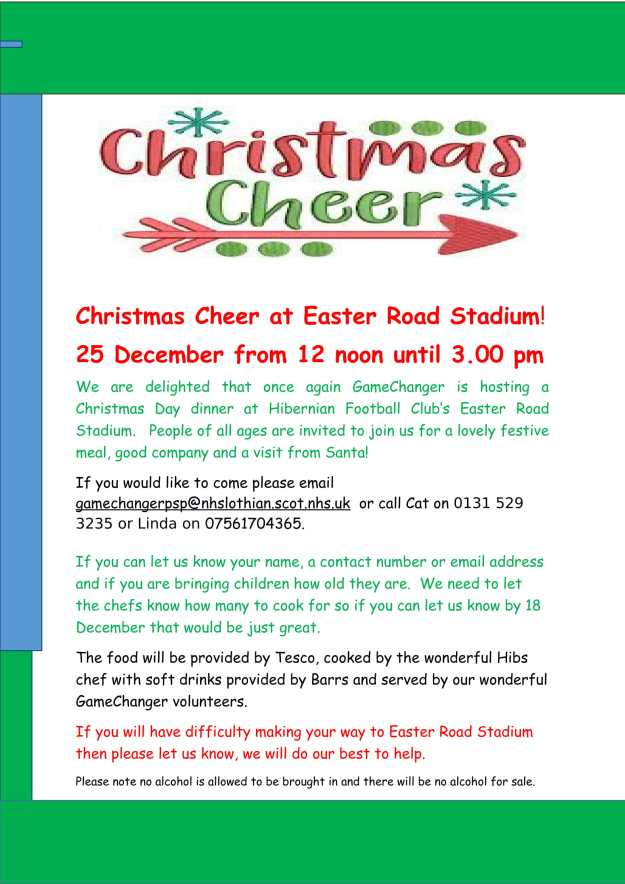 Christmas Cheer at Easter Road Stadium-1